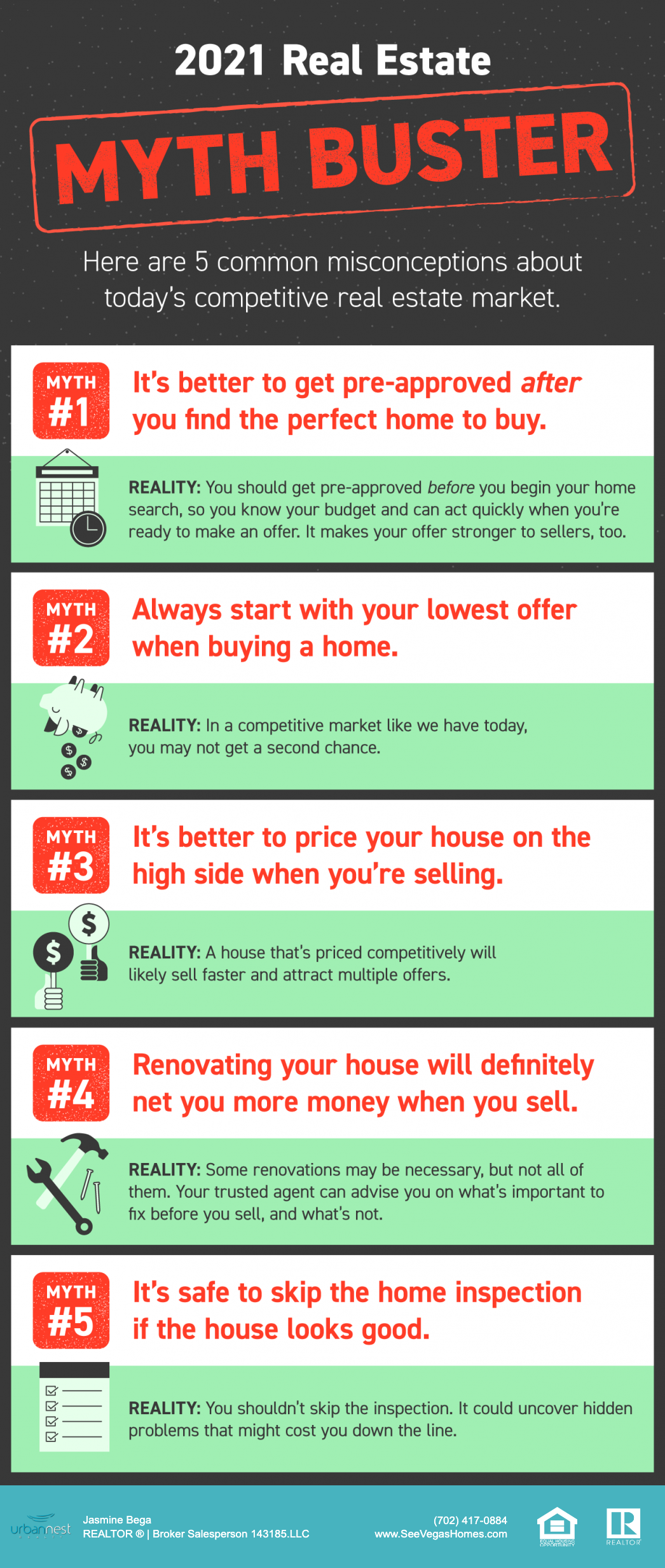 2021 Real Estate Myth Buster [INFOGRAPHIC] SeeVegasHomes